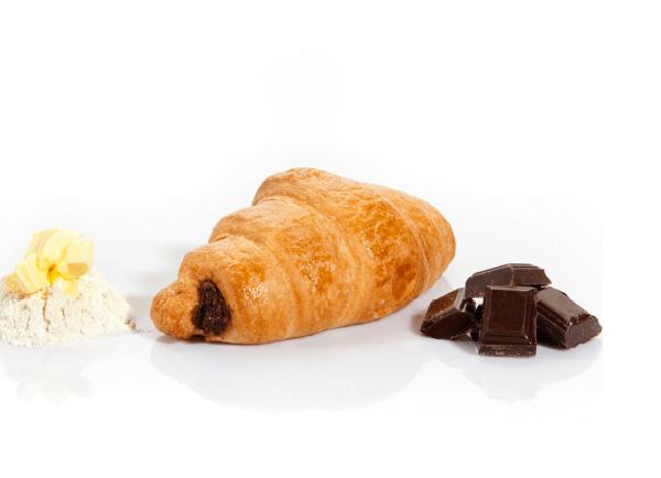 Croissant de Chocolate Folhado